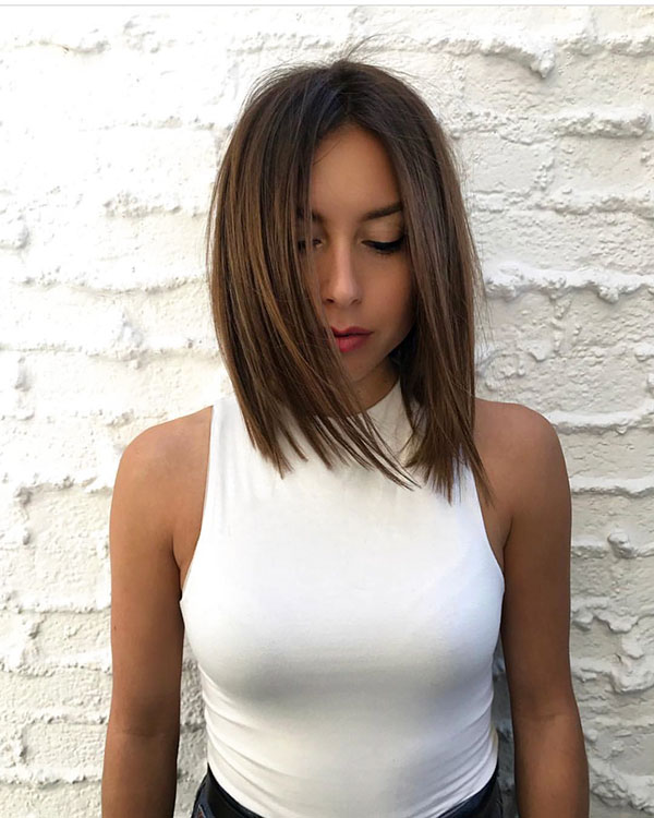Trendy-Short-Straight-Hairstyle 14 fabulous straight bobs hairstyles you might want to copy