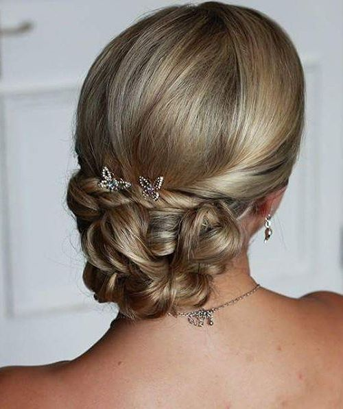 Twisted-and-Curled-Low-Chignon 12 Elegant Hairstyles for Any Formal Occasions