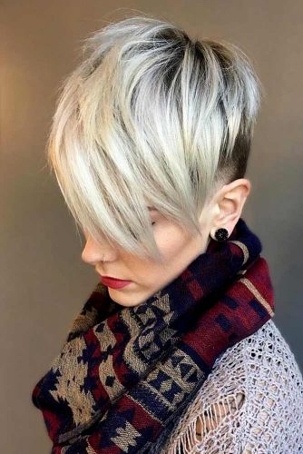Undercut-Pixie 12 Best Short Haircuts For 2020