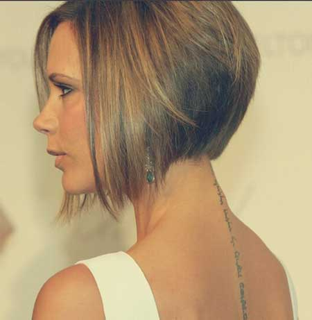Victoria-Beckham's-A-line-Bob 20 of the Most Hottest A-Line Bob Hairstyles