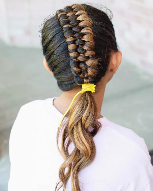 braided-ponytail-hairstyle-for-kids 10 super cute braid hairstyles for kids