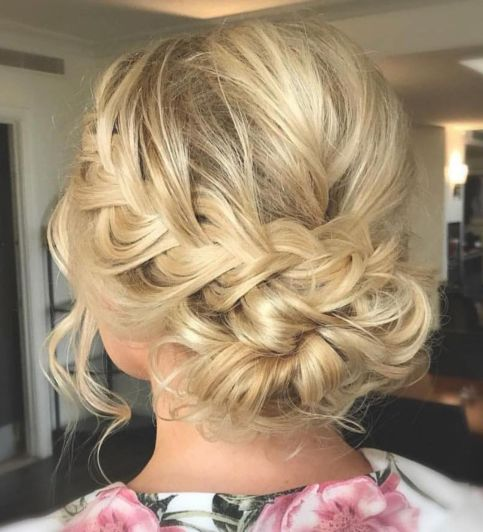 oose-Messy-French-Braided-Updo 12 Stunning Updos For Medium Length Hair