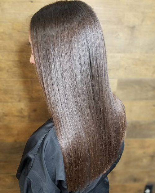 perfect-straightened-cut-for-thin-hair 14 gorgeous Hairstyles and Haircuts for Long Straight Hair