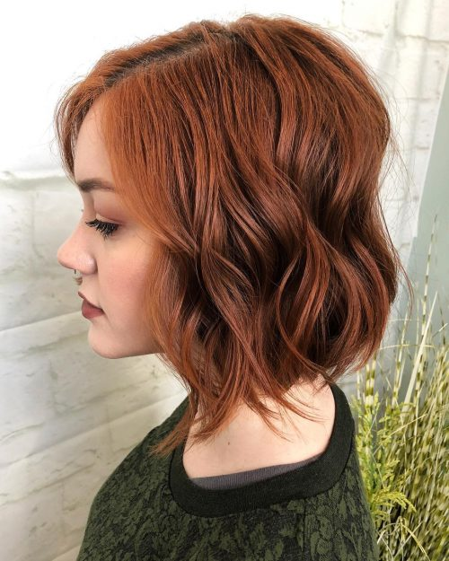 short-layered-bob-perfect-for-thick-hair 12 Winning-looks Layered Bob Hairstyles