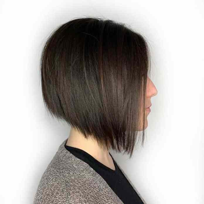 A-Line-Cut-Choppy-Bob Best A-Line Bobs You Need to Try (Trending for 2020)