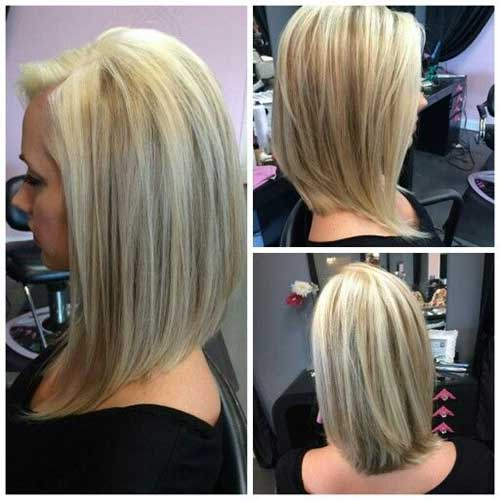 Angled-Bob-1 Captivating Inverted Bob Hairstyles That Can Keep You Out of Trouble