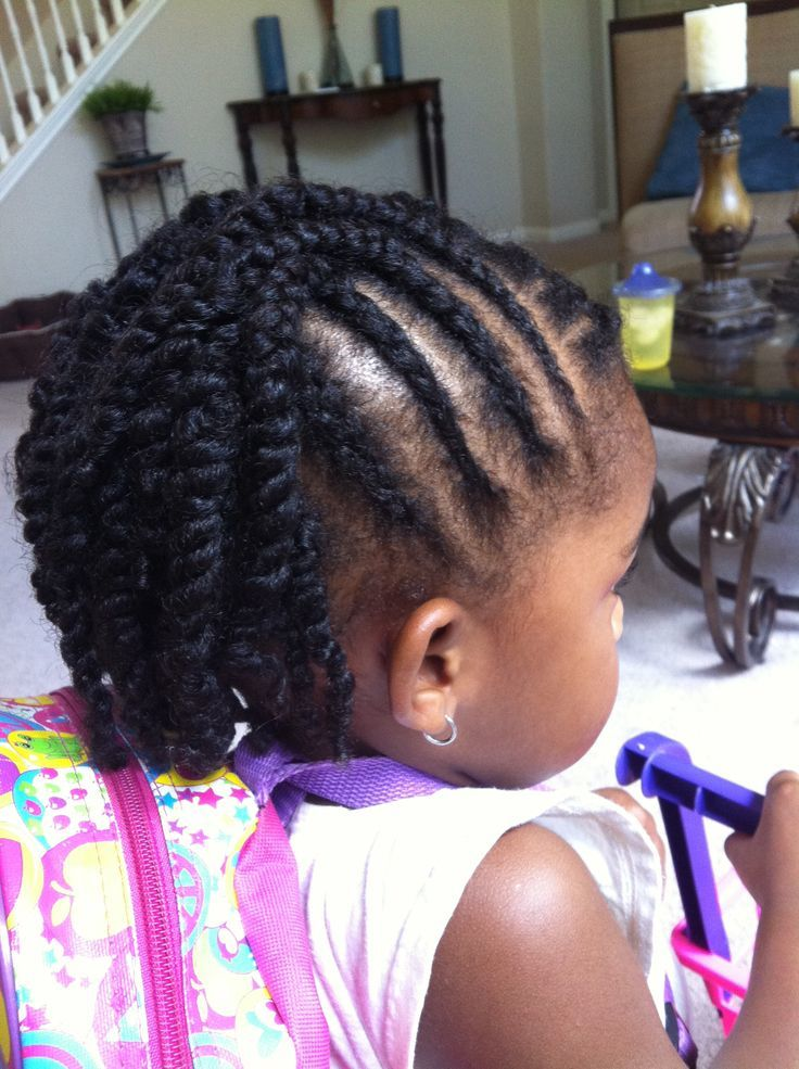 Baby's-First-Cornrows Cutest Braided Hairstyles for Little Girls Right Now