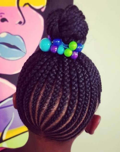 Back-Braids Cutest Braided Hairstyles for Little Girls Right Now