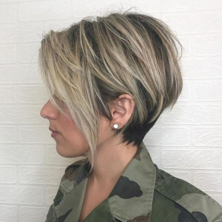 Balayage-Pixie-with-Tiered-Layers 10 On-trend Pixie haircuts in 2020
