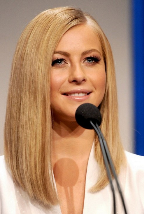 Blonde-Super-Long-Bob Most Hottest and Sexiest Long Bob Haircuts