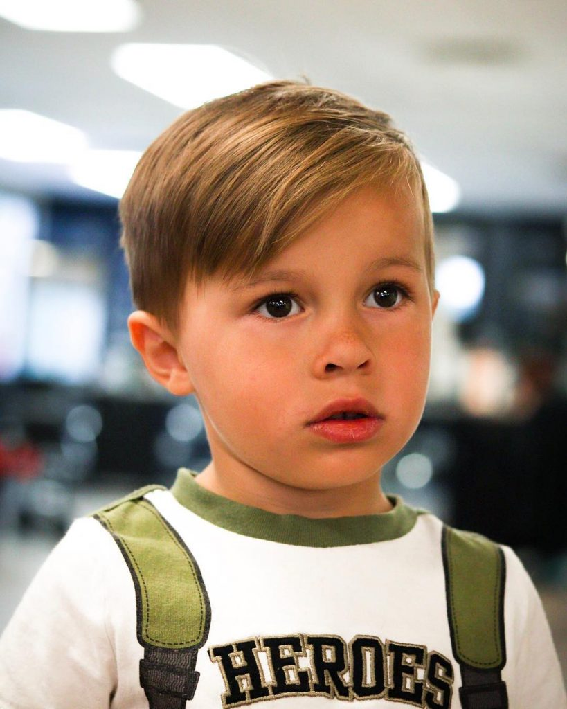 Calculated-Hairstyle Cute Haircuts for Boys for Charming Look