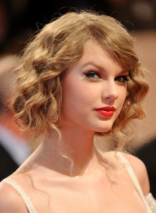Curly-Blonde Flawless Blonde Bob with Bangs Hairstyles to Try 2020
