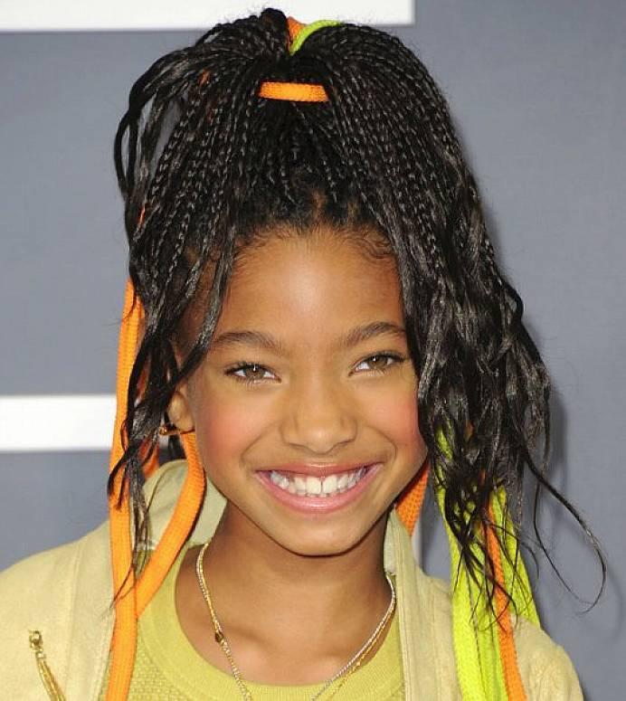 Curly-Braids Cutest Braided Hairstyles for Little Girls Right Now