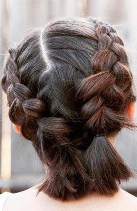 Cute-updo 15 Super Chic Updo Ideas for Short Hair