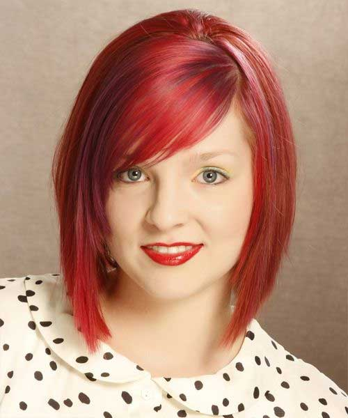 Get-red Captivating Inverted Bob Hairstyles That Can Keep You Out of Trouble