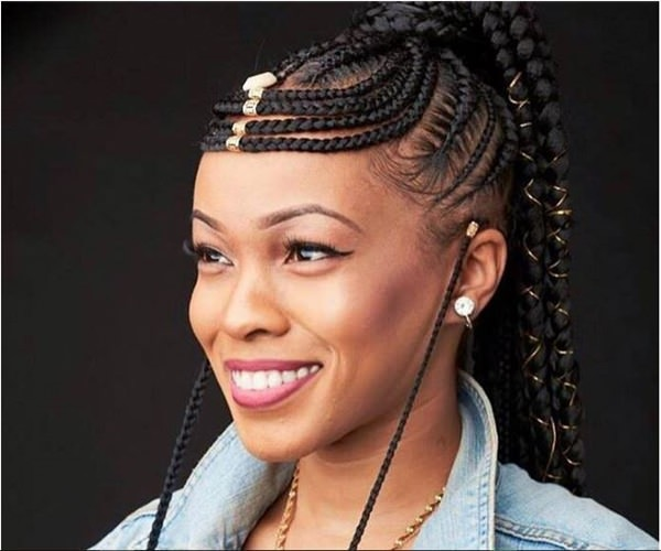 Goddess-Looks 14 Amazing Fulani Braids for Black Women