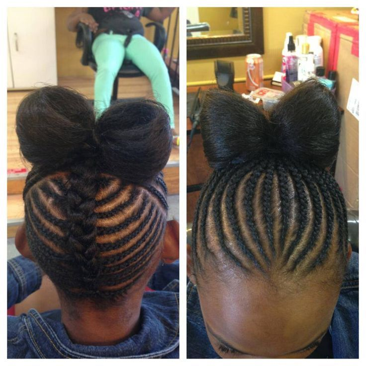 Hair-Bow-with-Braids Cutest Braided Hairstyles for Little Girls Right Now
