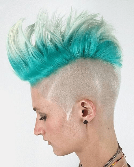 Half-Shaved-Head-Hairstyles-7 Brilliant Half Shaved Head Hairstyles for Young Girls