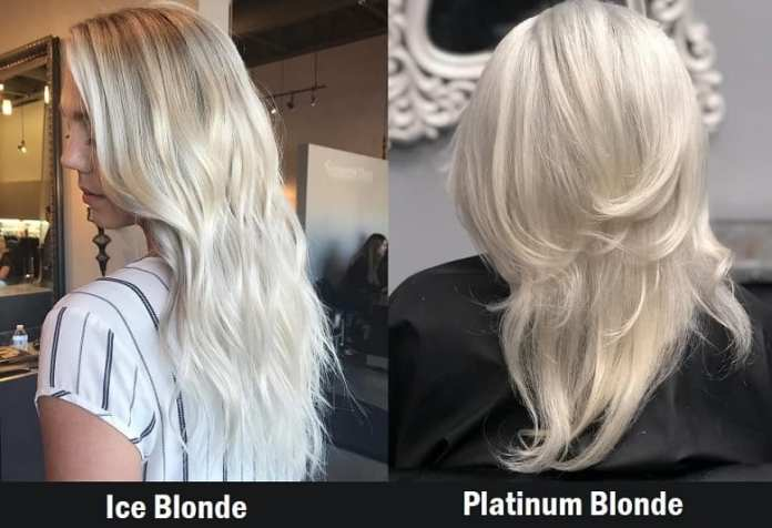 Ice-Blonde-Vs.-Platinum-Blonde Icy Blonde Hairstyles That'll Convince You to Go White