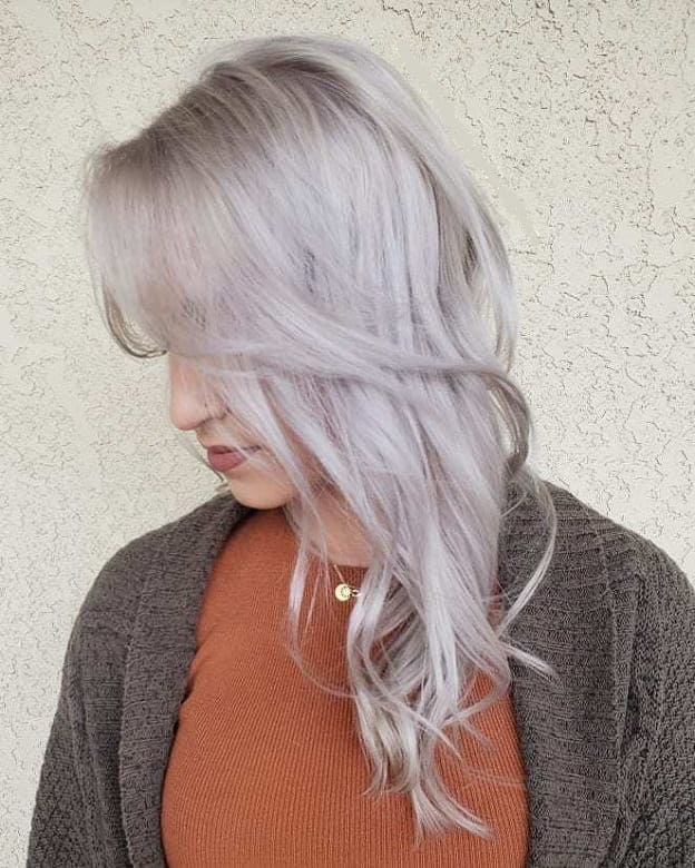 Ice-and-Ashy-Combo Icy Blonde Hairstyles That'll Convince You to Go White
