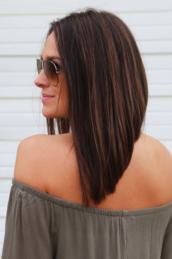 Layered-A-Line Most Hottest and Sexiest Long Bob Haircuts