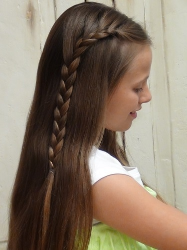 Little-Girl's-Braids-with-Beads-15 How to Style Little Girl's Braids with Beads