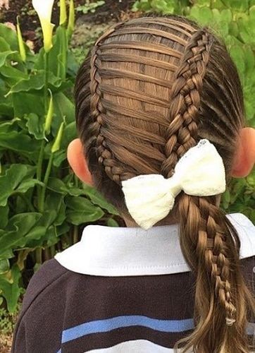 Little-Girl's-Braids-with-Beads-23 How to Style Little Girl's Braids with Beads