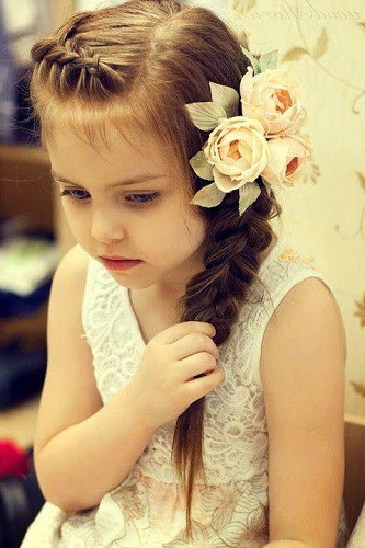 Little-Girl's-Braids-with-Beads-40 How to Style Little Girl's Braids with Beads