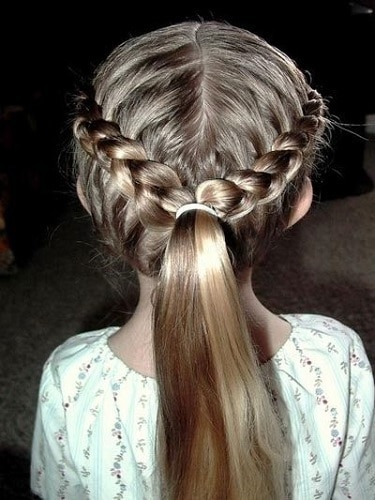 Little-Girl's-Braids-with-Beads-5 How to Style Little Girl's Braids with Beads