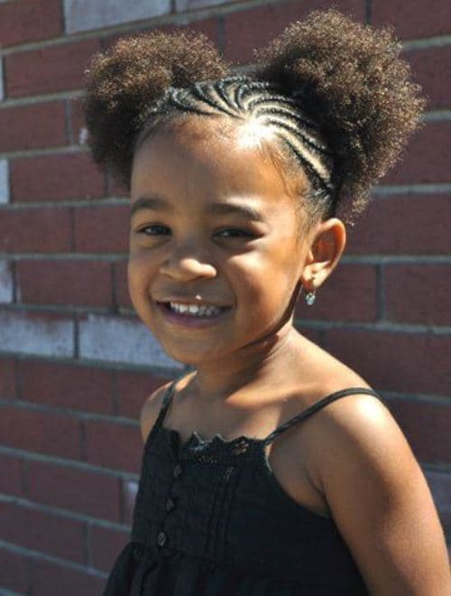 Little-Poms Cutest Braided Hairstyles for Little Girls Right Now