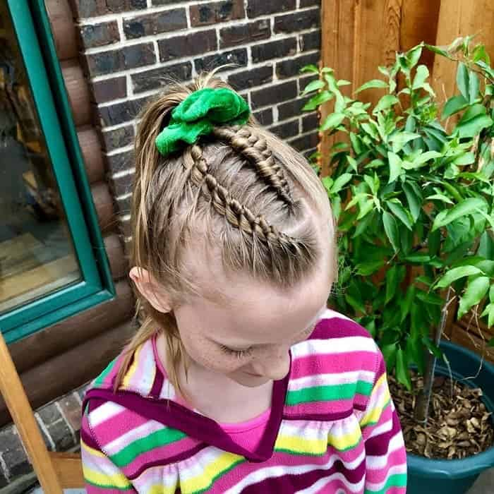 Little-White-Girl-Braids Cutest Braided Hairstyles for Little Girls Right Now