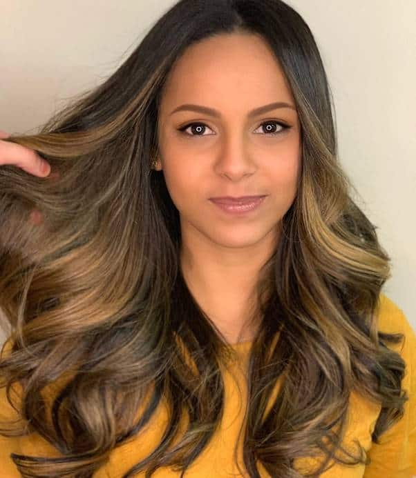 Long-Wavy-Hairstyle Bewitching Brunette Ombre Hair Ideas (2020 Guide)