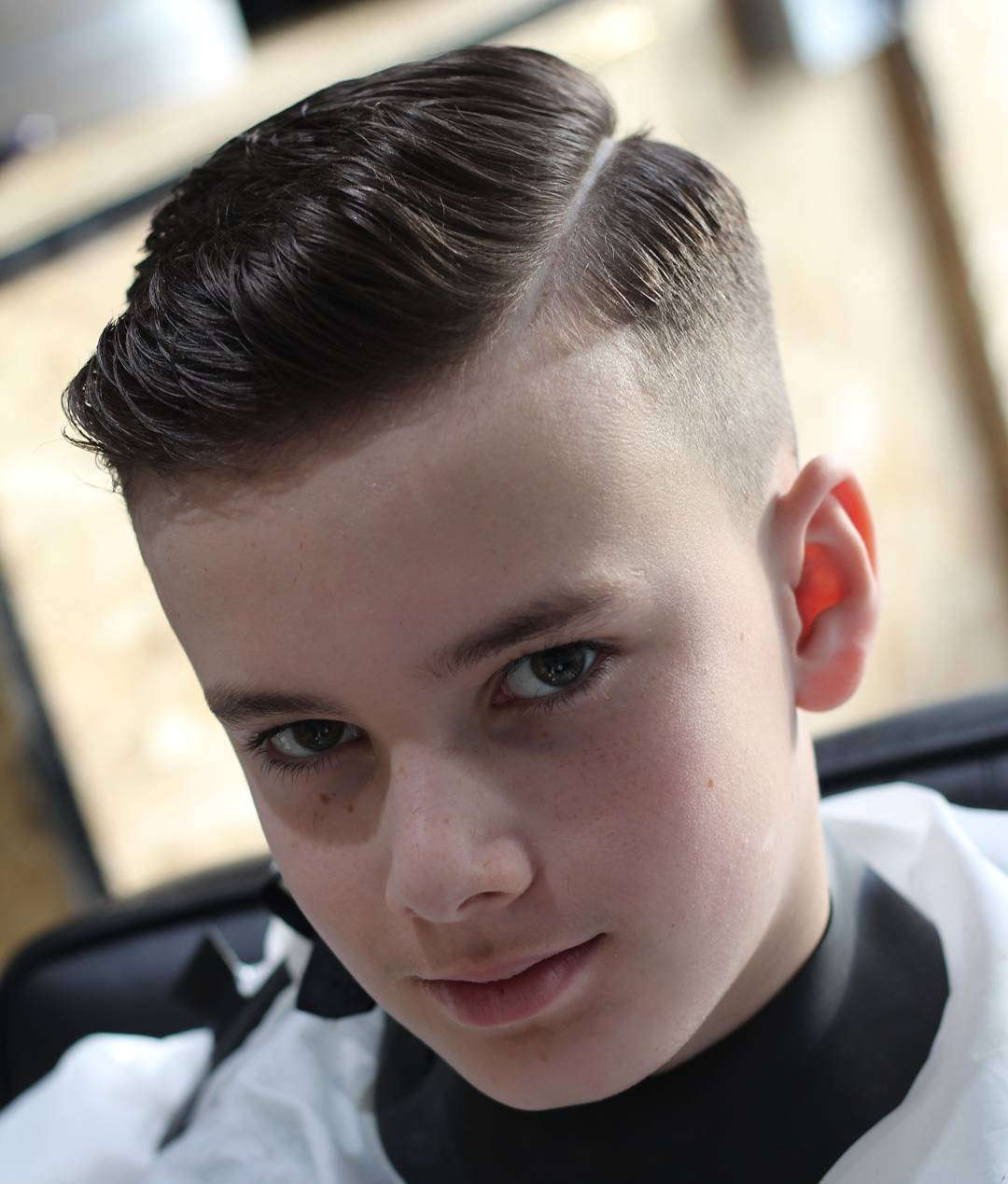 Low-Spikes-with-Side-Undercut Cute Haircuts for Boys for Charming Look