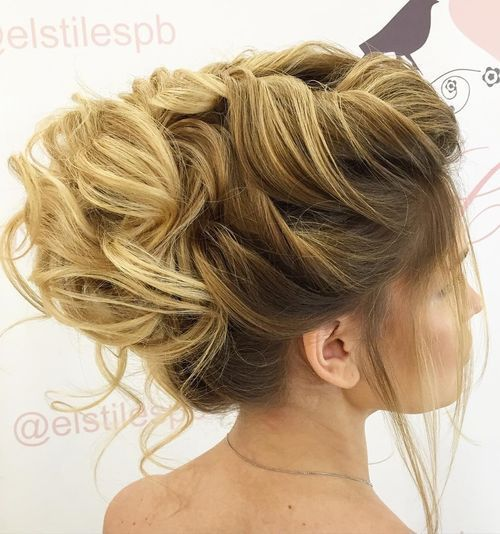 Messy-and-Magical-Bridal-Updo 14 Gorgeous Wedding Hairstyles for Long Hair
