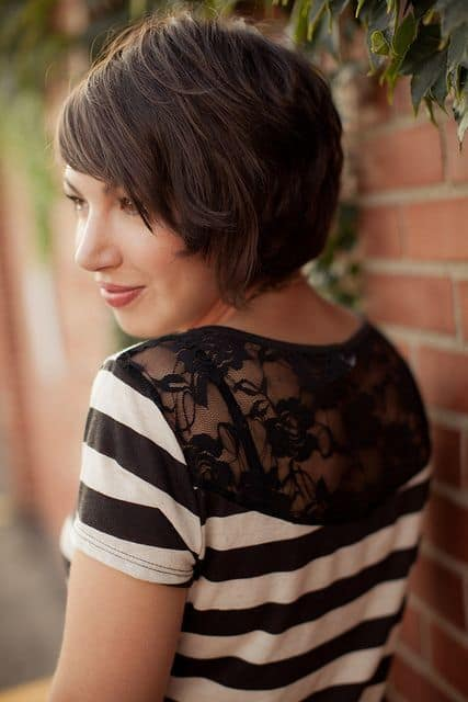 Neatly-graduated- Cutest Bob Haircuts for Women to Bump Up The Beauty