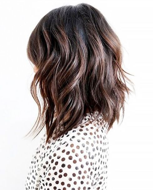 Ombre-Bob-with-Gentle-Waves Most Hottest and Sexiest Long Bob Haircuts