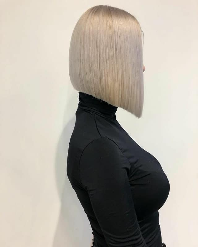 Platinum-Bob Best A-Line Bobs You Need to Try (Trending for 2020)