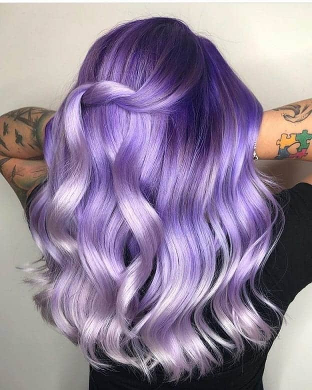 Purple-Balayage Balayage Highlights: Top 10 Styles to Brighten Your Look