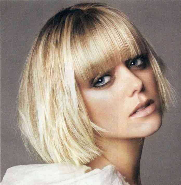 Shattered-Bangs-With-Bob Cutest Bob Haircuts for Women to Bump Up The Beauty