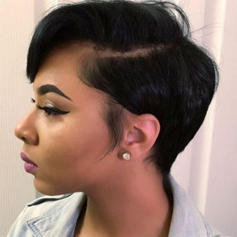 Short-Hairstyle-for-Thin-Hair 12 Great Short Hairstyles for Black Women