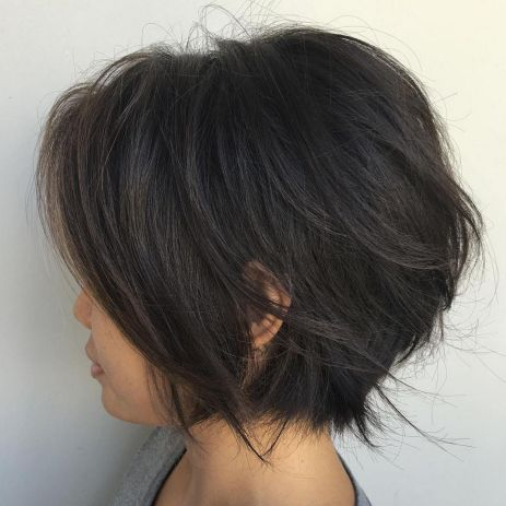 Short-Jagged-Bob Gorgeous Choppy layered bobs in 2020