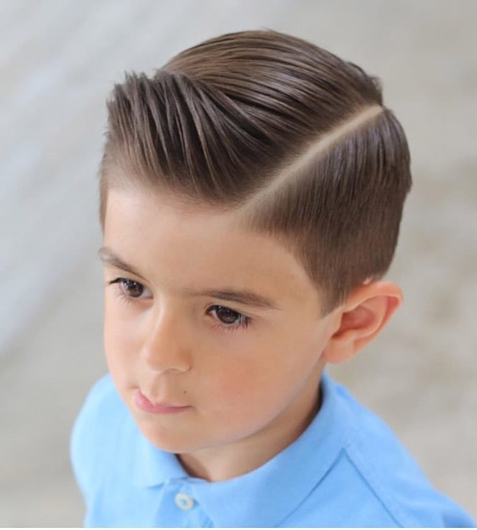 Short-Spikes-with-Low-Fade Cute Haircuts for Boys for Charming Look