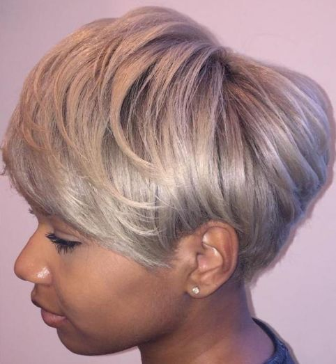 Short-and-Silverv 12 Great Short Hairstyles for Black Women
