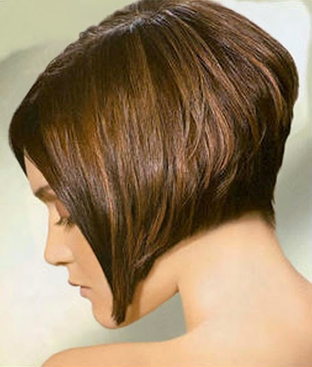 Short-and-stacked Captivating Inverted Bob Hairstyles That Can Keep You Out of Trouble