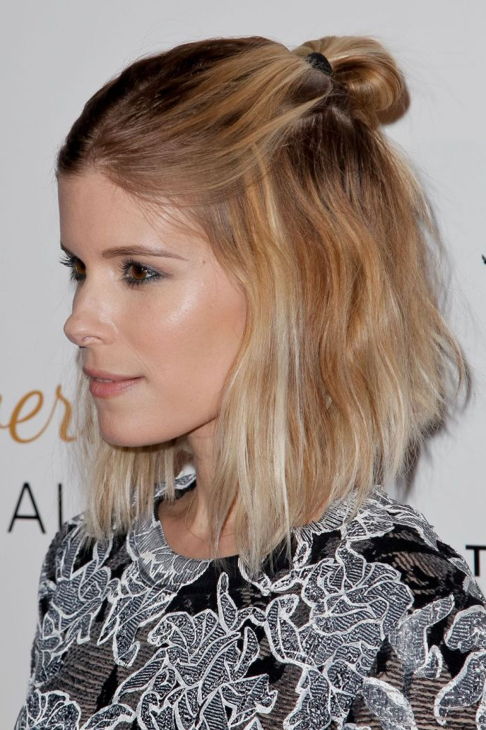 Short-bun 10 volume-boosting hairstyles for thin hair you should take into account