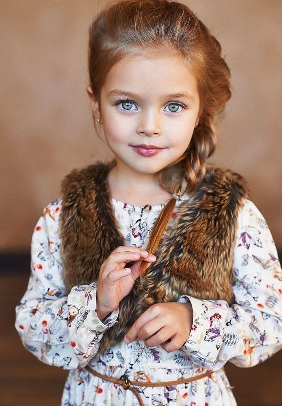 Side-Braid Cutest Braided Hairstyles for Little Girls Right Now