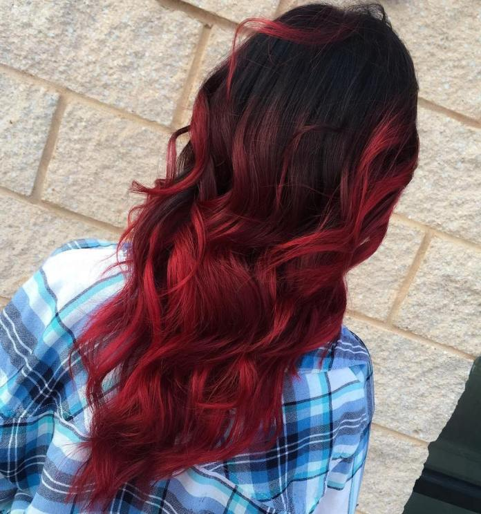 Soft-Red-Ombre 14 Best Ombre Hair Color Ideas for all hair color