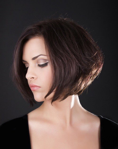 Stacked-and-neat Captivating Inverted Bob Hairstyles That Can Keep You Out of Trouble