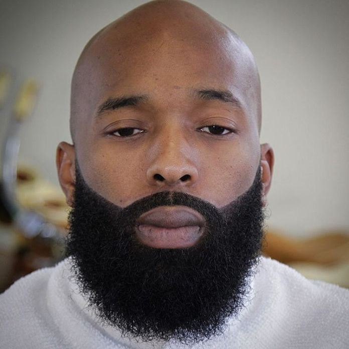 The-Bald-Man-Beard Beard Styles for Black Men to Look Stylish