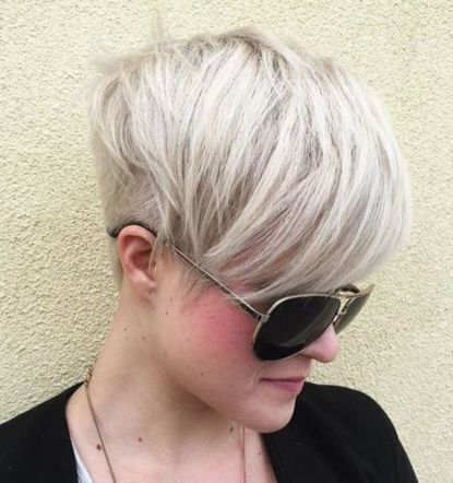 Undercut-Pixie 12 Trendy Pixie haircut ideas for your next cut